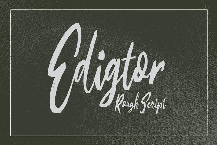 Thumbnail for Edigtor - Rough Script