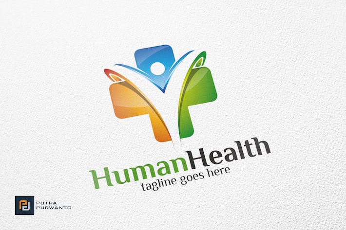 Thumbnail for Human Health / Cross - Logo Template