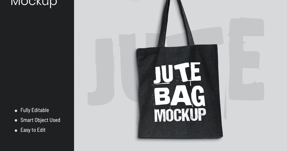 Download Jute Bag Mockup by VictorThemesNX