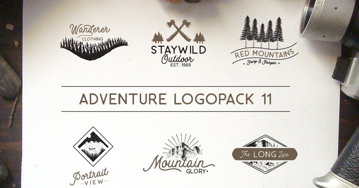 Download Adventure Logopack Vol. 11 by letterhend