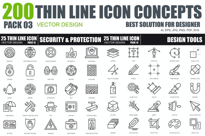 Cover Image For Line icons