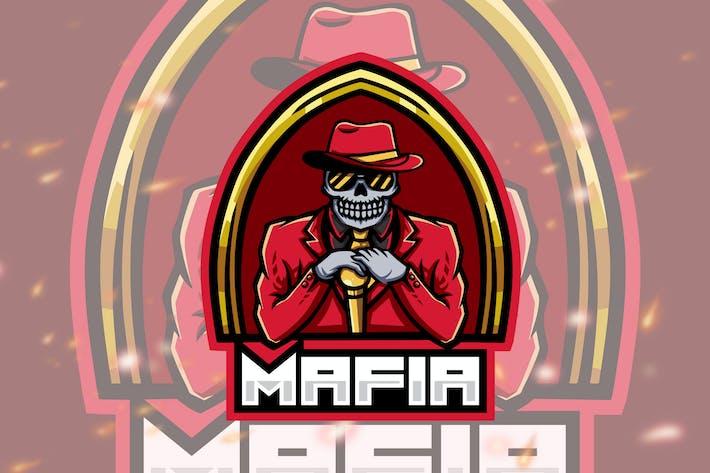 Thumbnail for Mafia Esport Gaming Logo