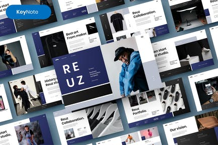 Reuz – Business Keynote Template