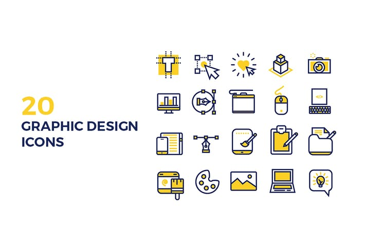 Thumbnail for Graphic Design Icons