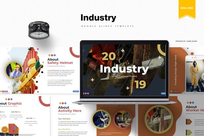 Thumbnail for Industry | Google Slides Template