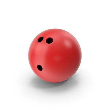 Bola de Bowling Rojo