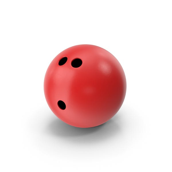 Thumbnail for Bowling Ball Red