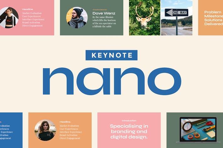 Thumbnail for Nano — Keynote Presentation Template