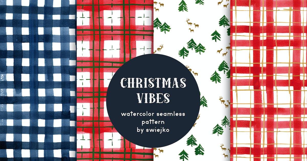 Download Christmas Vibes - seamless patterns by swiejko