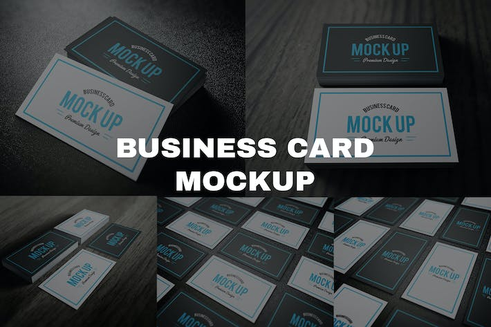 Thumbnail for Business Card Mockup 2