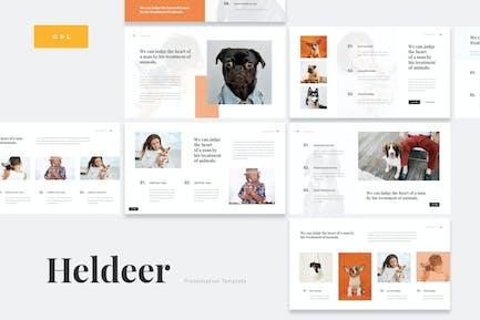 Heldeer - Dog Lover Google Slides Presentation