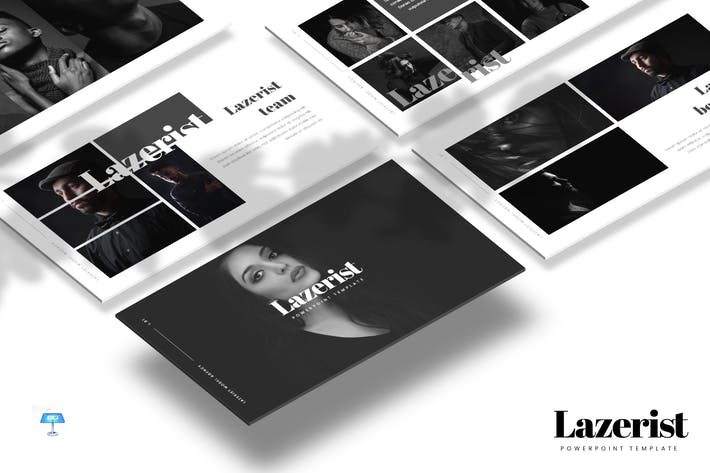 Thumbnail for Lazerist - Keynote Template
