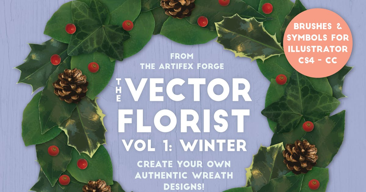 Download The Vector Florist - Brushes: Winter by JRChild