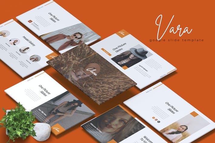 Thumbnail for VARA - Fashion Google Slides Template