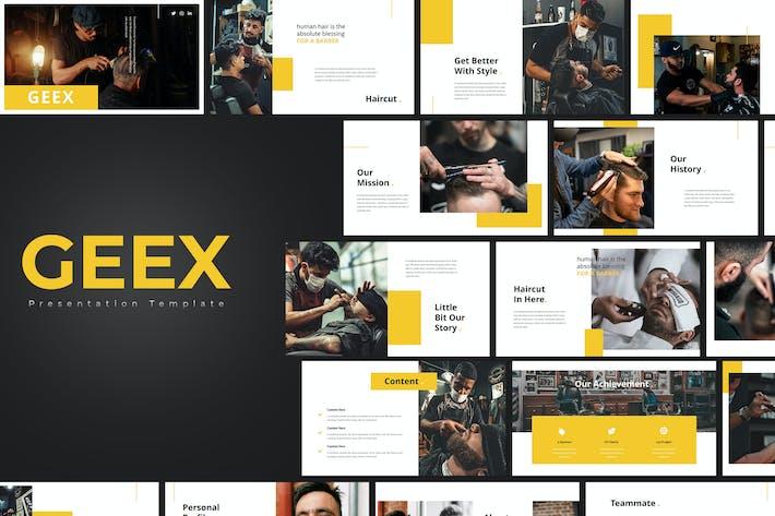 Geek – Barbershop PowerPoint Template