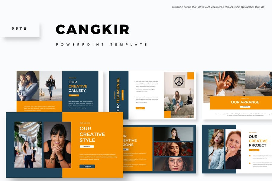 Cangkir - Powerpoint Template