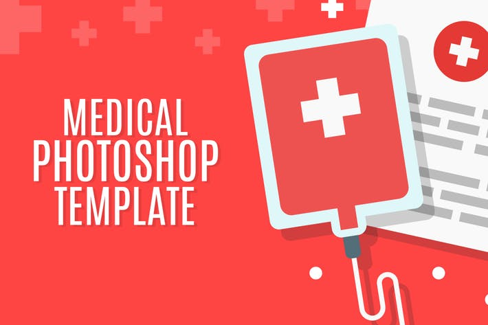 Thumbnail for Medical - PSD Landing Page