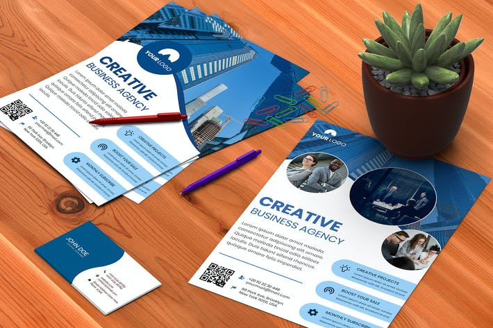 Thumbnail for Business Corporate Flyer Templates