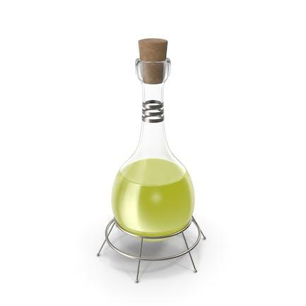 Frasco alquímico amarillo