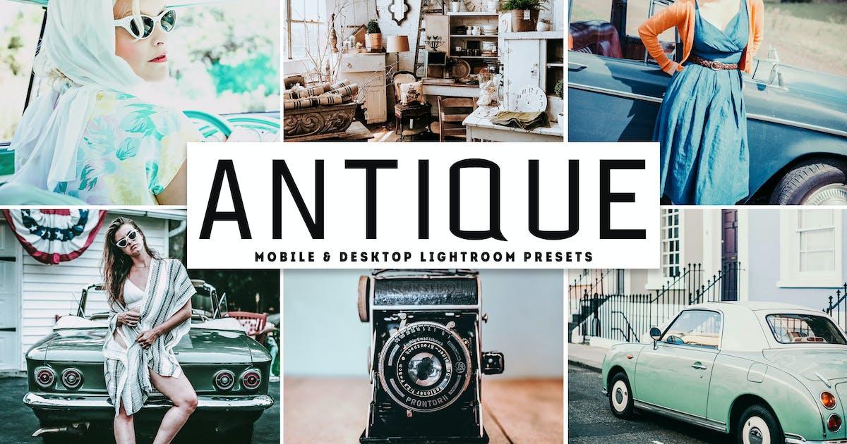 Download Antique Mobile & Desktop Lightroom Presets by creativetacos
