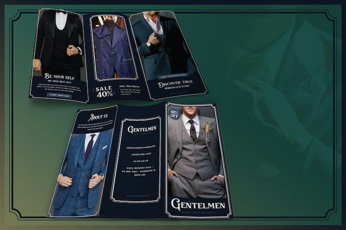 Thumbnail for Minimalist Tailor Suit - Brochure