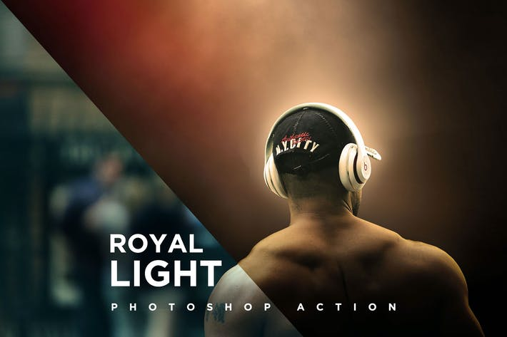 Royal Light Photoshop Action