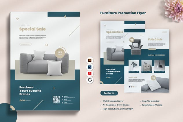Furniture Flyer - product preview 6