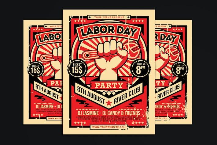 Thumbnail for Folleto del Día del Trabajo