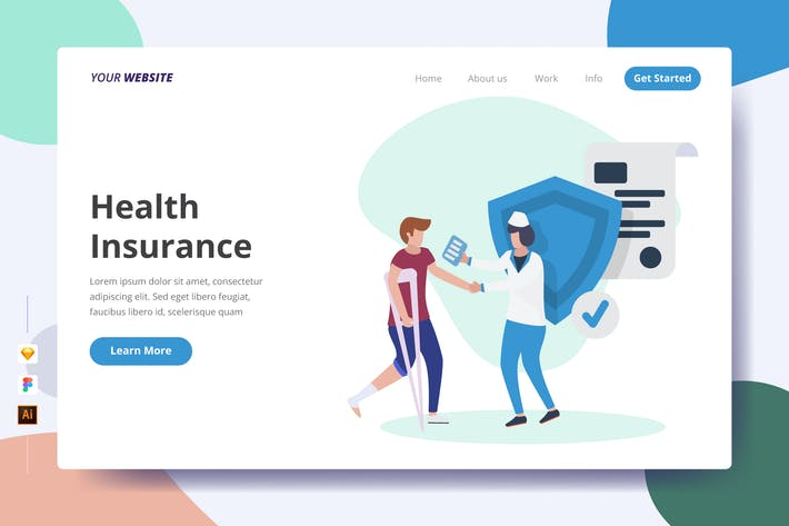 Thumbnail for Health Insurance - Landing Page