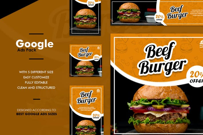 Thumbnail for Google Ads Web Banner Food