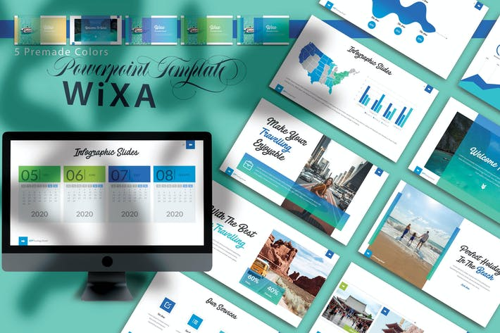 Thumbnail for WIXA - Шаблоны PowerPoint
