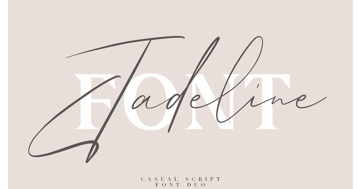 Download Jadeline Script - Free Serif Font by maulanacreative
