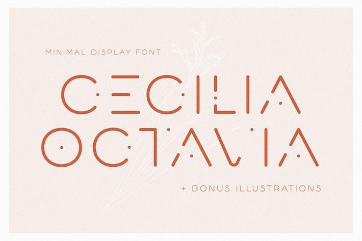Thumbnail for Cecilia Octavia - Minimal Sans Serif