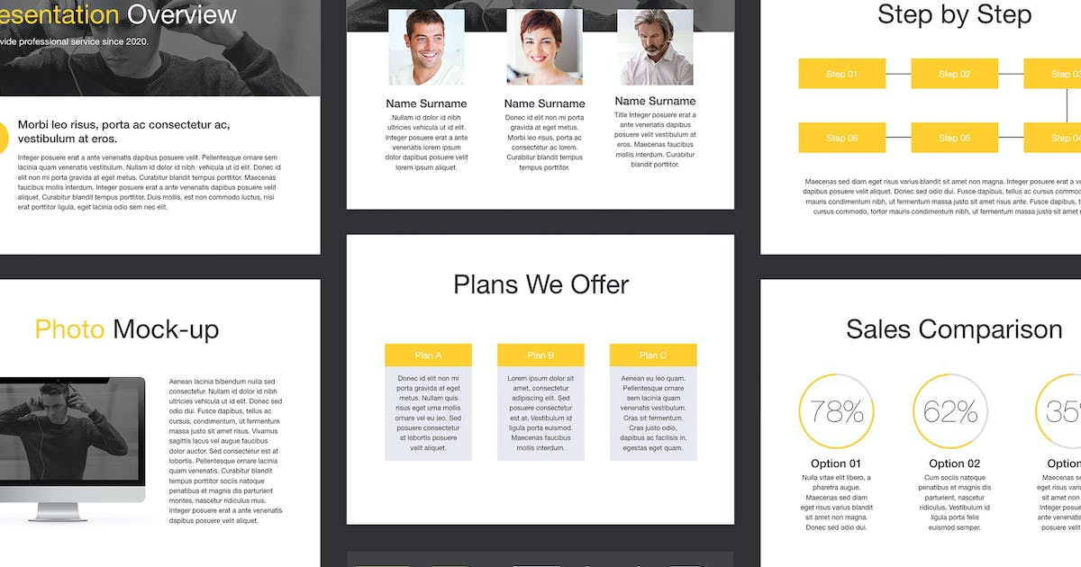 Download Trend Keynote Template by Unknow
