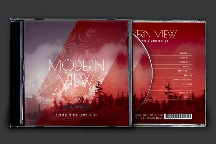 Thumbnail for Modern View CD Cover Artwork