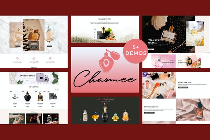 Thumbnail for Charmee - Perfume And Cosmetics Shopify Theme