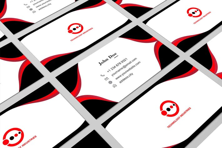 Thumbnail for Business Card Template.03
