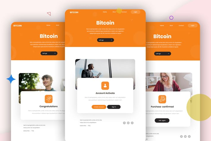 Thumbnail for Bitcoin - 10 Email Template