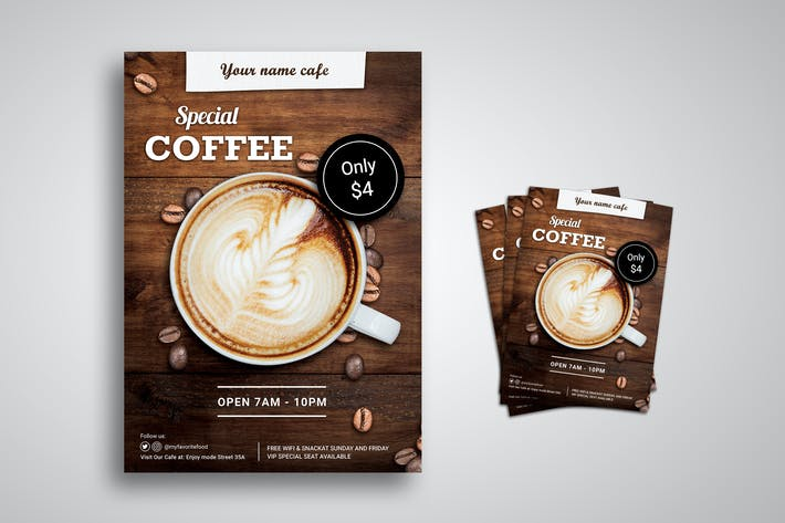 Thumbnail for Special Coffee Flyer Promo