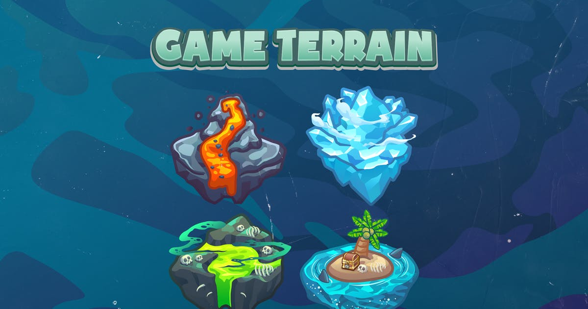 Download Island Game Terrain Icon by febryangraves