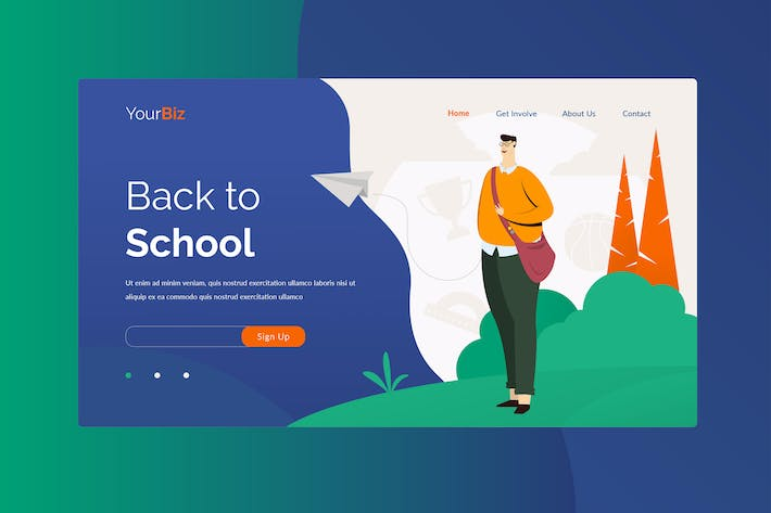 Thumbnail for Back To School Landing Page