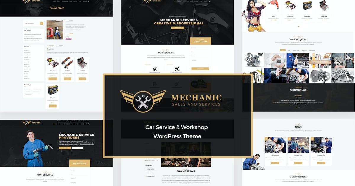 Download Mechanic - Car Service & Repair WordPress Theme by murren20