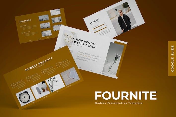 Fournite - Google Slides Template