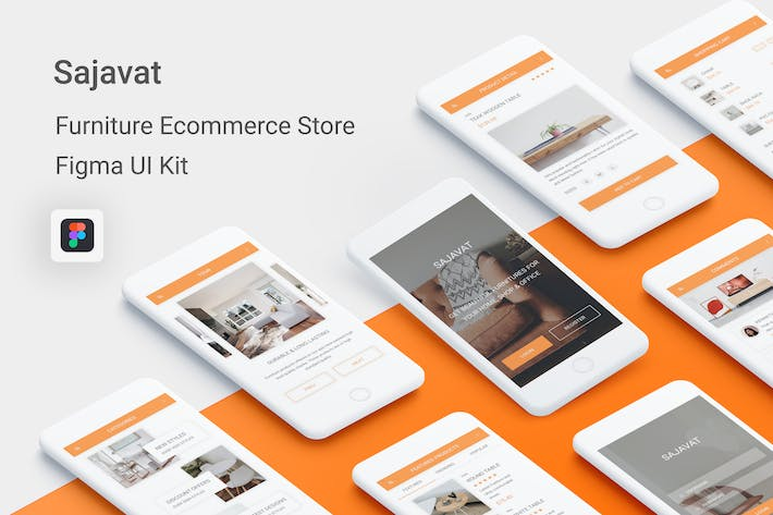 Thumbnail for Sajavat - Furniture Ecommerce Store for Figma