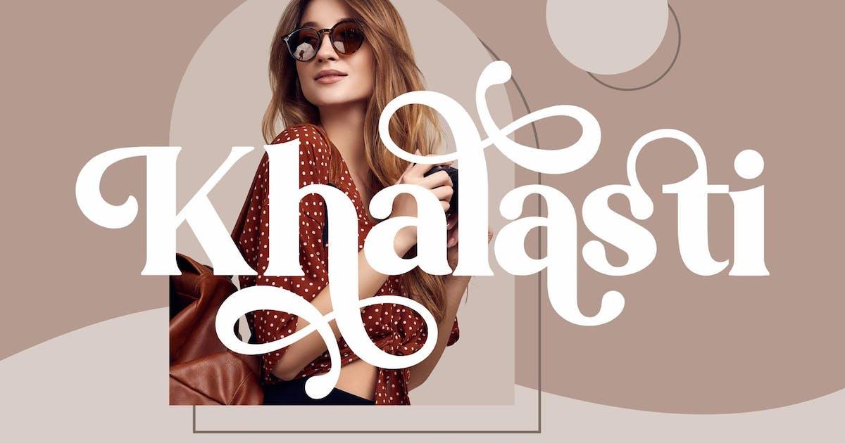 Download Khalasti Serif LS by GranzCreative