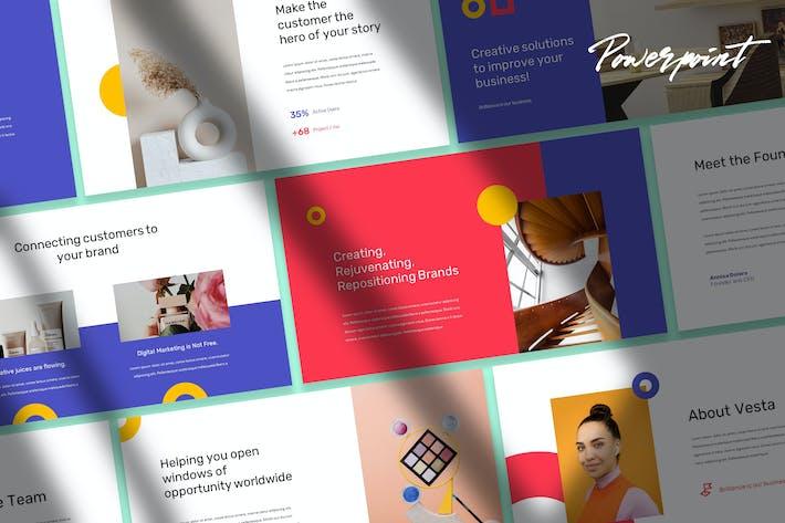 Thumbnail for Vesta - Moderne Powerpoint-Vorlage
