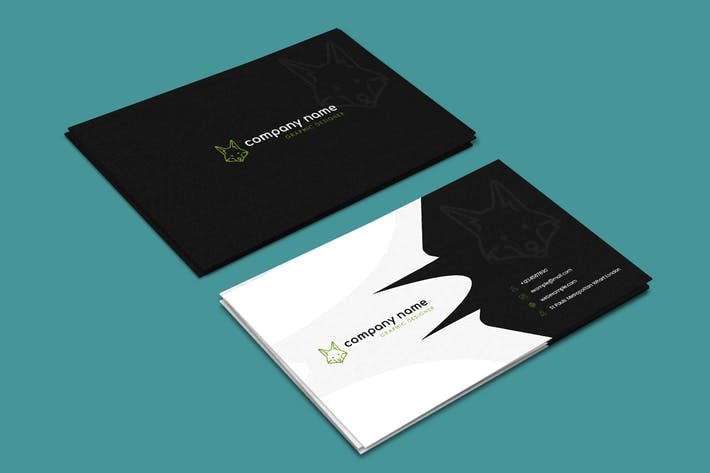 Thumbnail for Creative - Market Business Card Template