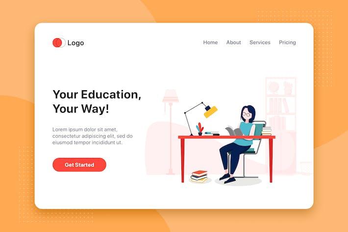 Thumbnail for Education Illustration - Website Header