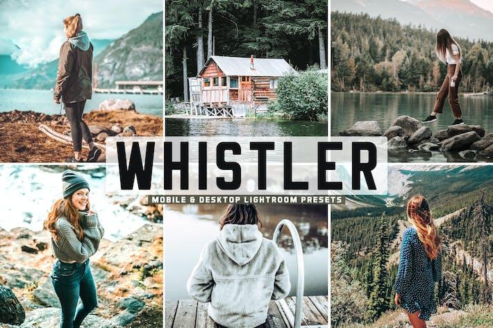 Thumbnail for Whistler Mobile & Desktop Lightroom Presets