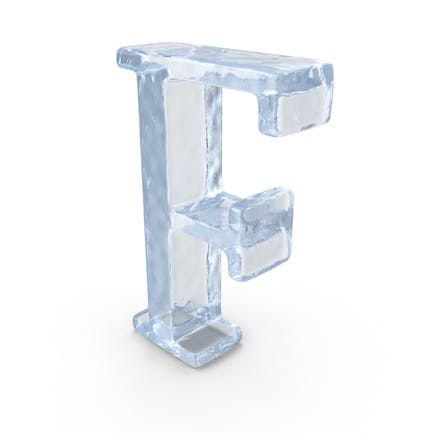 Ice Capital Letter F